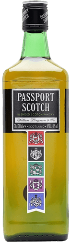 Виски Passport Scotch 40% 0,5 л