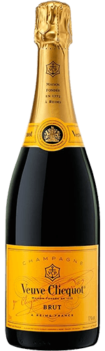 Шампанское Veuve Clicquot Yellow Label Brut белое брют 12% 0,75 л