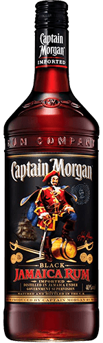 Ром Captain Morgan Dark 40% 0,7 л