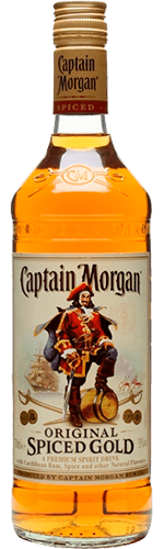 Ром Captain Morgan Spiced Gold 35% 0,7 л