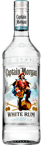 Ром Captain Morgan White 37,5% 1 л