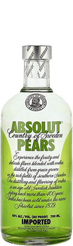 Водка Absolut Pears 40% 0,7 л